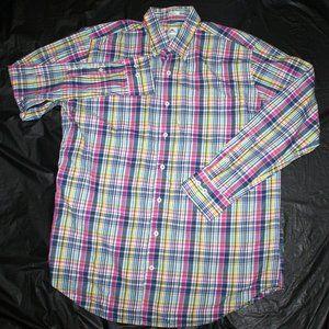 Peter Millar Mens Long Sleeve Button Down Shirt Si
